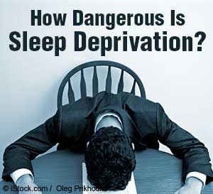 sleep deprivation risks