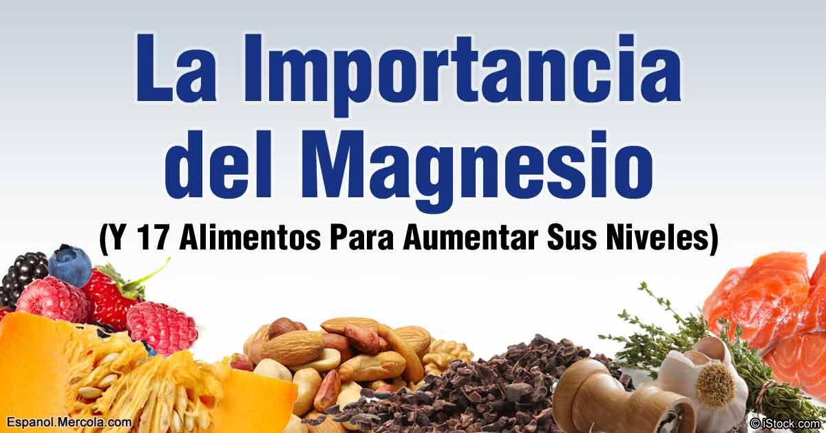 Alimentos ricos en magnesio que son buenos para su salud - Alimentos q contengan magnesio ...