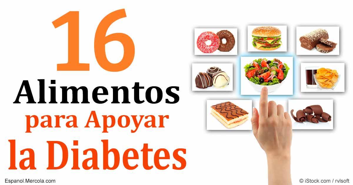 16 Alimentos Para Controlar la Diabetes Tipo 2
