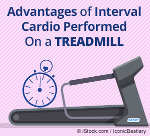 cardio performed on treadmill