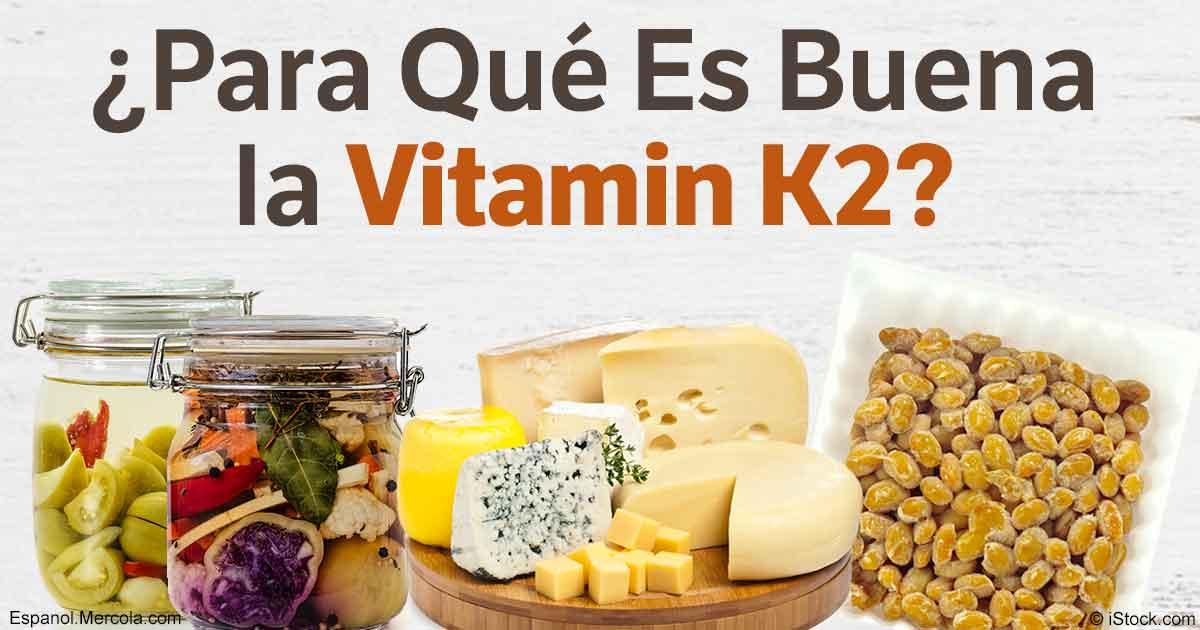 Resultado de imagen de Vitamina K2