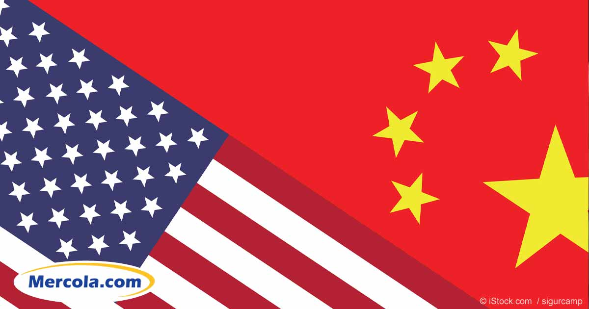 Usa China Flags Fb