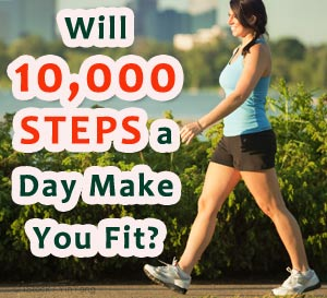 walking 10000 steps benefits