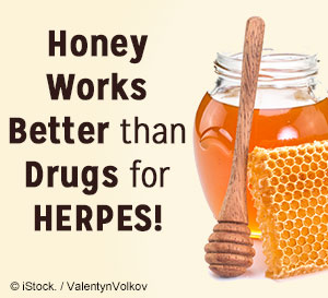 honey works better for herpes