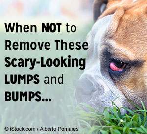 when not to remove lumps and bumps