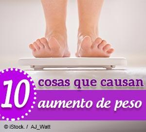 10 cosas que lo hacen engordar