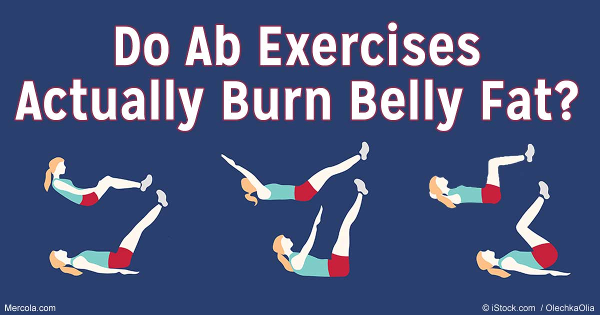 Can Ab Exercises Actually Burn Belly Fat?