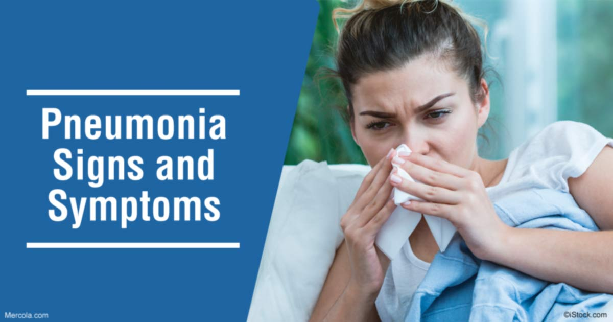 what are the signs and symptoms of pneumonia?, Human body