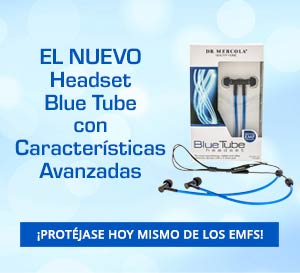 Headset Blue Tube