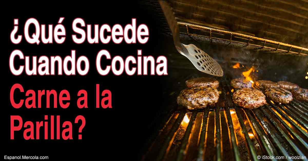 Qu le sucede a la carne cuando la cocina a la parrilla for Cambios quimicos en la cocina
