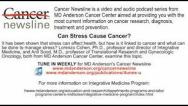 How Chronic Stress Promotes Spread of Cancer, and What You Can Do About It