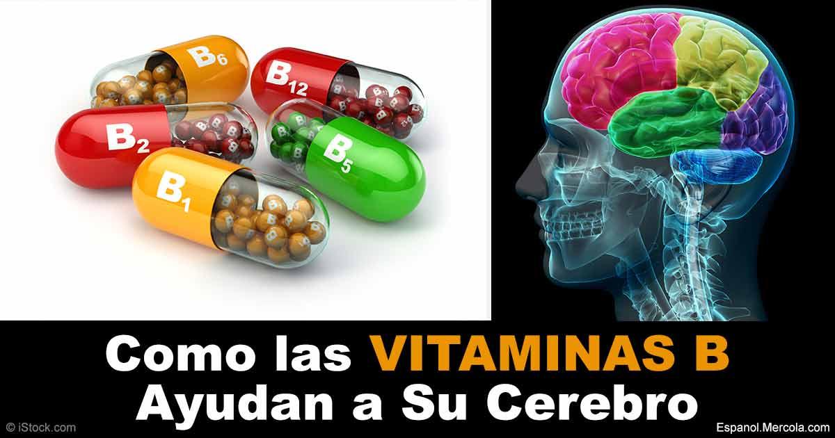 Vitamina b valiosa para la salud cerebral for B b com
