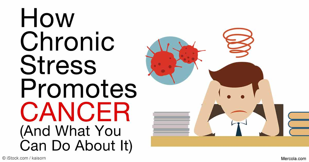How Chronic Stress Promotes Spread Of Cancer