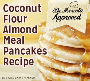 coconut flour almond pancake recipe