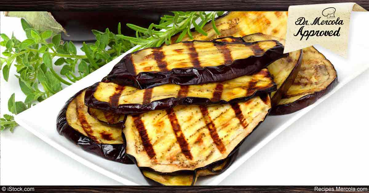 Healthy Grilled Eggplant Recipe