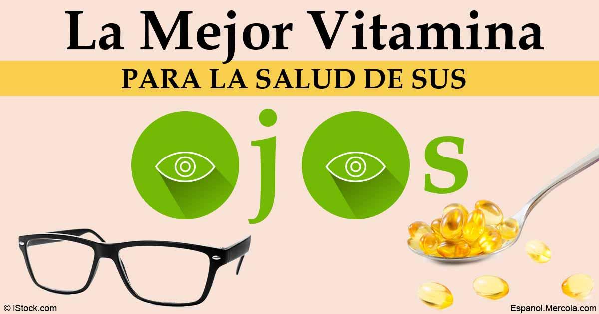 Mejore la Salud de sus Ojos con Vitamina D