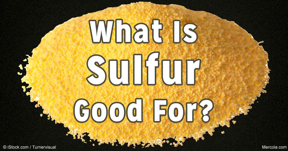 The Importance of Sulfur to Your Body