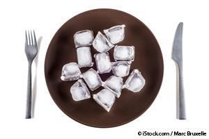 vontade de comer gelo