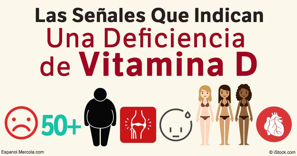 Que produce la falta de vitamina d