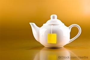 咖啡和绿茶
