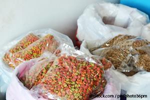 PBDE exposure in commercial cat food