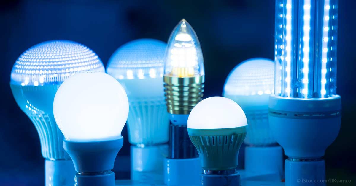 Blue Leds Light Up Your Brain