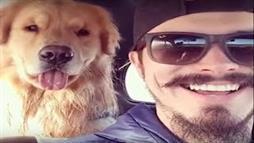 Guy Smiles, Dog Smiles
