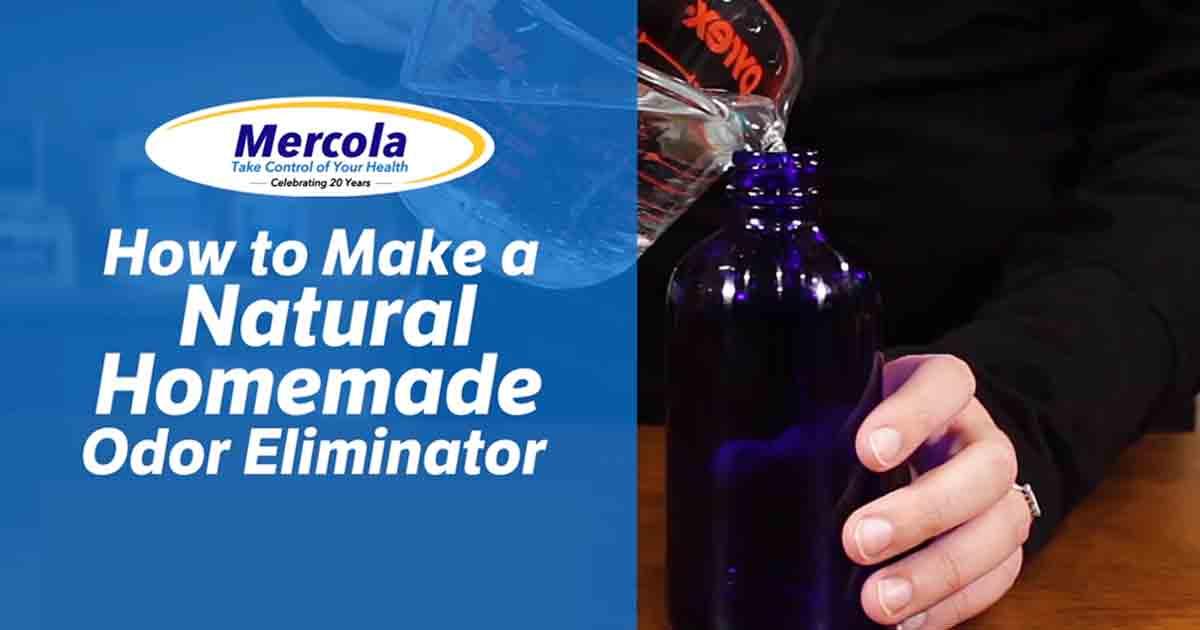 How To Make A Natural Homemade Odor Eliminator