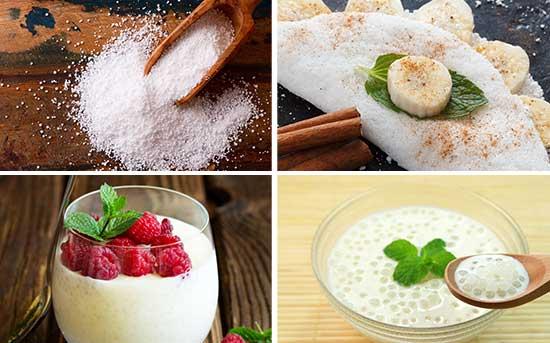 木薯粉和采用木薯粉制成的菜肴