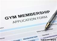 gym membership application form