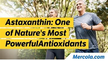 Research on Astaxanthin Demonstrates Significant Whole Body Benefits