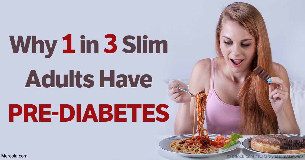 One-Third of Slim American Adults Have Pre-Diabetes