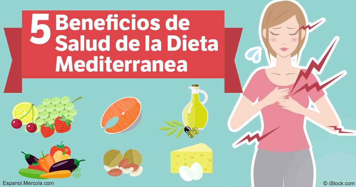 Cuales son los beneficios de la dieta mediterranea