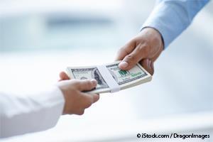 corporation bribe