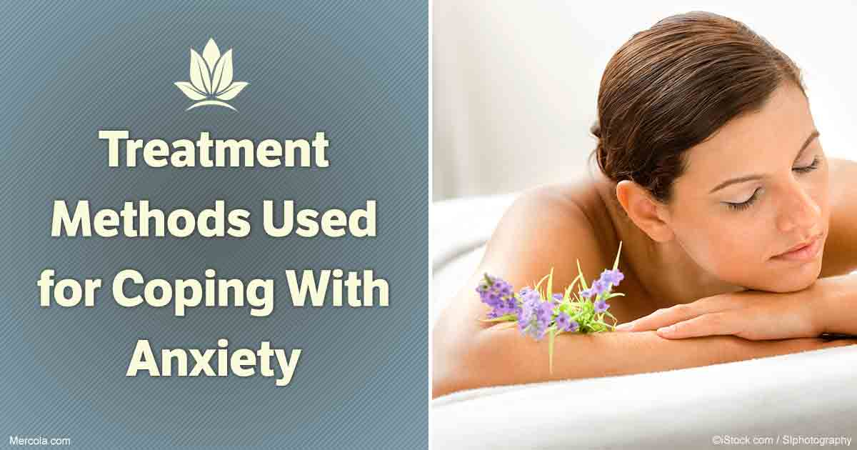 Treatment Methods Used For Coping With Anxiety