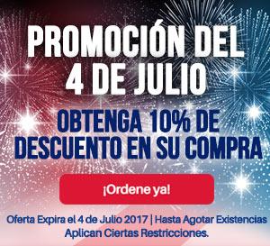 Promocion del 4 de Julio