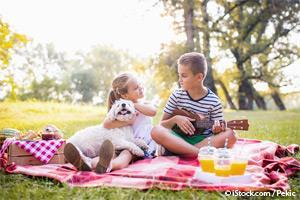 children and pet bond benefits