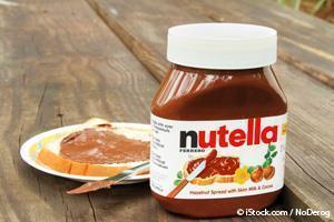 Ingredientes de Nutella