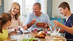 Health Benefits of Family Meal Time