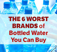 6 Worst Brands of Bottled Water