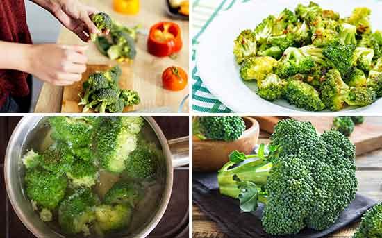 브로콜리를 요리에 활용하는 방법