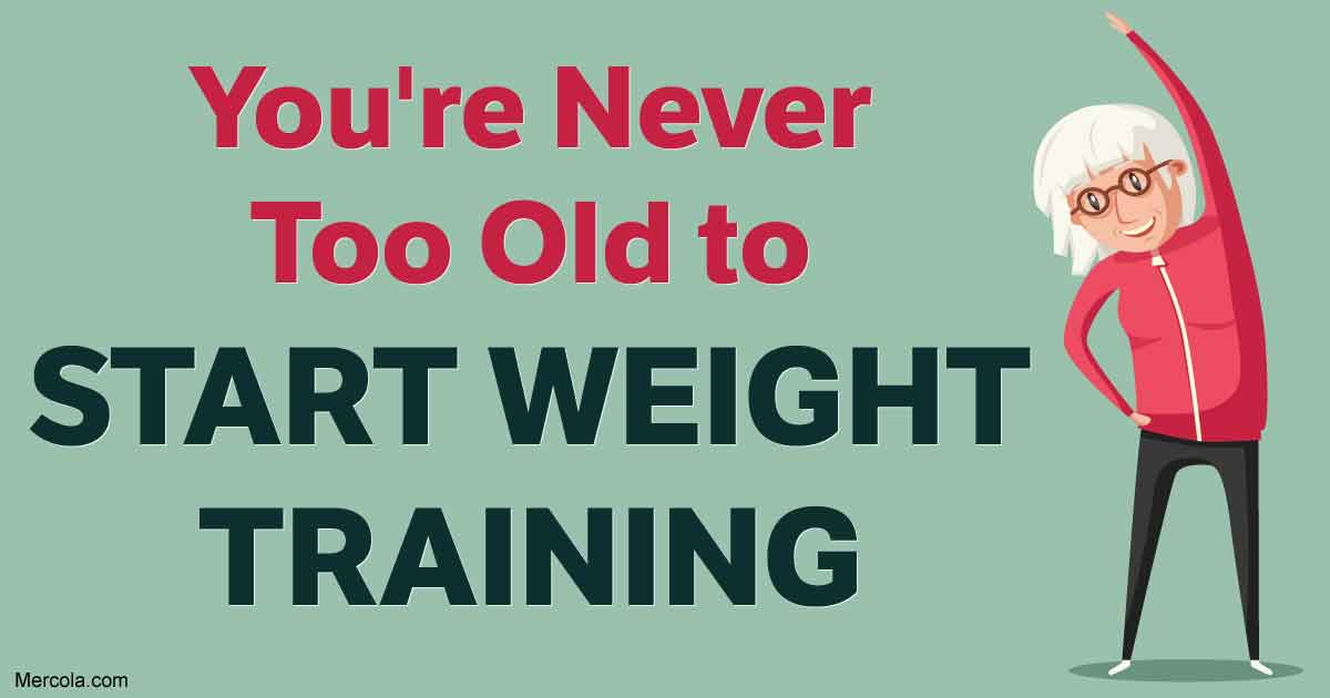 Youre never too old to start weight training fandeluxe Gallery