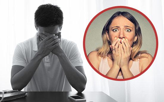 Приступ тревожности и паническая атака