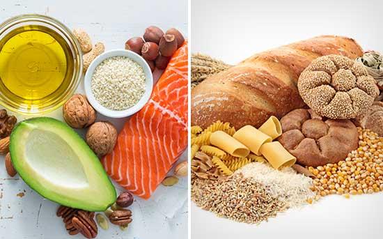 尝试用健康脂肪取代碳水化合物