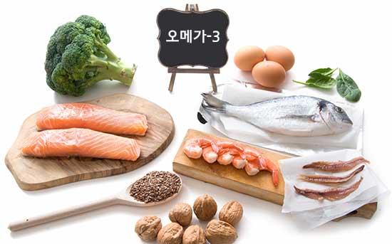 오메가 3가 풍부한 식단