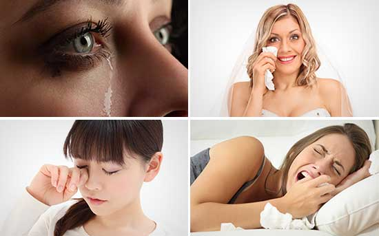 눈물의 다양한 기능