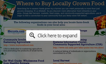 where to buy locally grown food