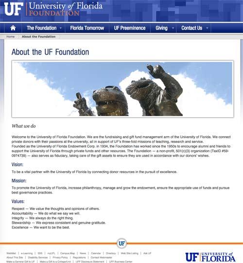 About University of Florida Foundation