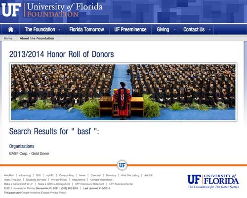 ufl search results basf