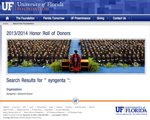 uf search results syngenta